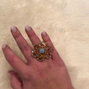 Betsey Johnson Flower Power Ring